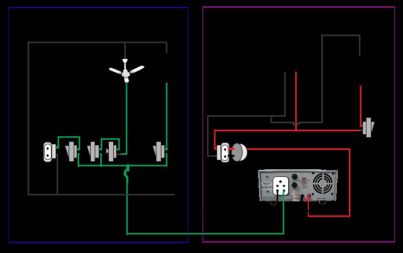 घर में main supply और inverter का कनेक्शन कैसेhow to install inverter in home switch board \u2013 जैसा कि आप इस चित्र में देख सकते हैं इनवर्टर पर मेन सप्लाई