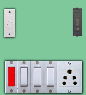 Electrical Switchboard Connection Wiring In Hindi