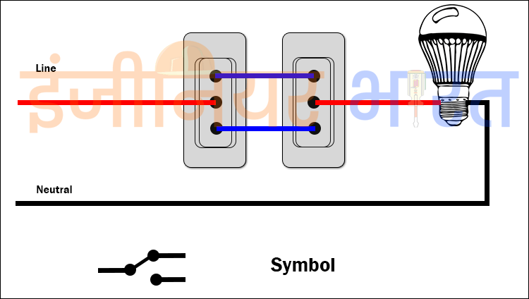 Outstanding Two Way Switch Cunnection Embellishment - Schematic ...