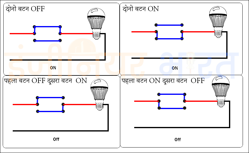 Two Way Switch Connection कैसे करे